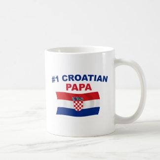 Papa des Kroate#1 Tasse