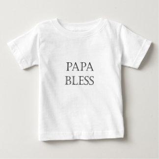 Papa segnen baby t-shirt