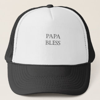 Papa segnen truckerkappe