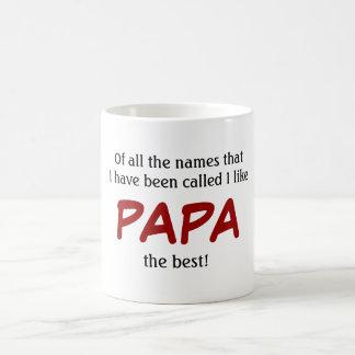 PAPA Tasse