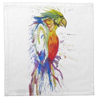 Papagei Budgie Vogel Serviette