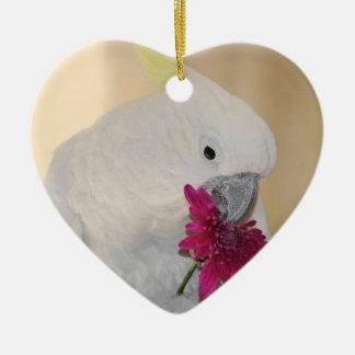 Papagei er Lieben ich oder nicht Keramik Ornament