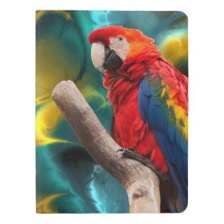 Papageien-Kunst 1 Extra Großes Moleskine Notizbuch