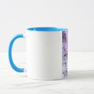 Papageien-Pop-Kunst Tasse