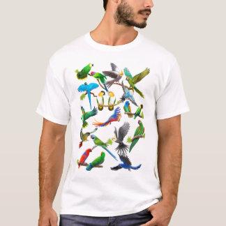 Papageien-reichlich T - Shirt
