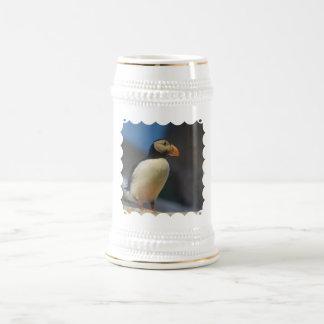 Papageientaucher-Bier Stein Bierglas