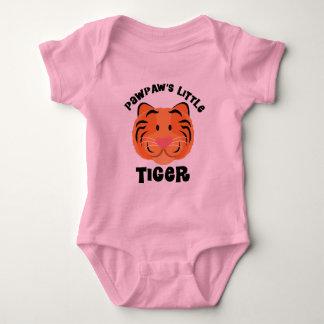 Papaya-kleiner Tiger-niedliches Geschenk Baby Strampler