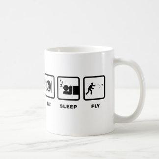 Papierflugzeug-Enthusiast Kaffeetasse