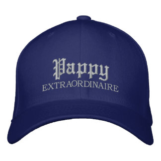 Pappy Extraordinaire gestickte Kappe Besticktes Baseballcap