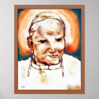 Papst Johannes Paul II Poster