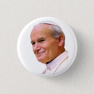 Papst Johannes Paul II. Runder Button 3,2 Cm
