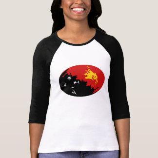 Papua-Neu-Guinea Gnarly Flaggen-T - Shirt