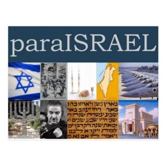 Para Israel Postkarte