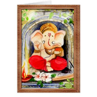 Paradies - Ganesh Karte