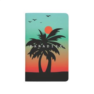 Paradies Taschennotizbuch