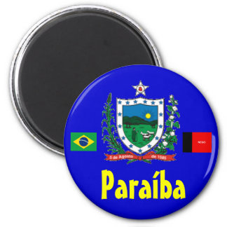 Paraíba Imã Brasilien Paraíba Magnet Runder Magnet 5,1 Cm