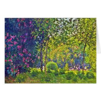 Parc Monceau Claude Monet Karte