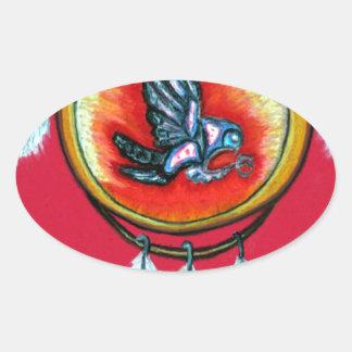 Pari Chumroo Produkte Ovaler Aufkleber