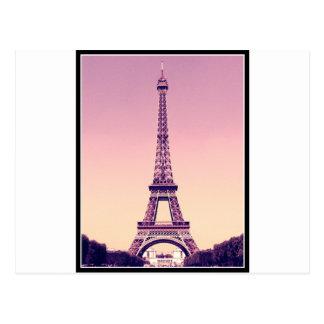 Paris - Eiffelturm Postkarte