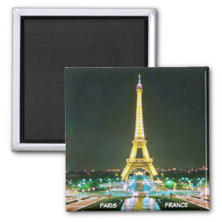 PARIS, FRANKREICH QUADRATISCHER MAGNET