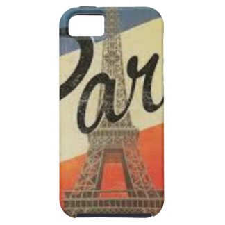 Paris Frankreich Vintage iPhone 5 Case