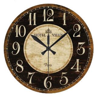 Paris-Hotel-Uhr Wanduhr