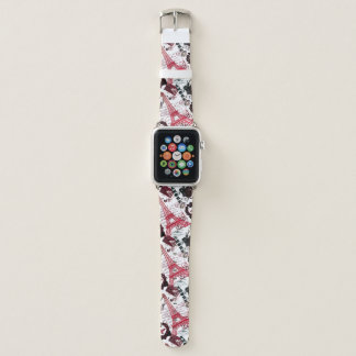 Paris: : La-Ausflug Eiffel Apple Watch Armband
