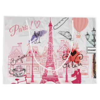 Paris-Magie Große Geschenktüte