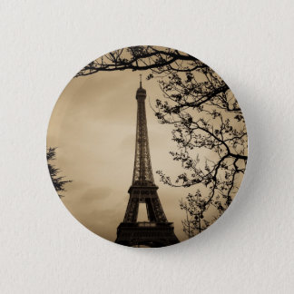 Paris Runder Button 5,1 Cm