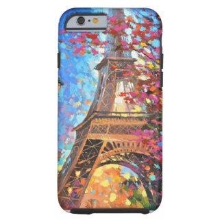Paris-Schönheit Tough iPhone 6 Hülle