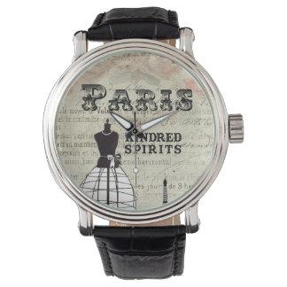 Paris und I Armbanduhr