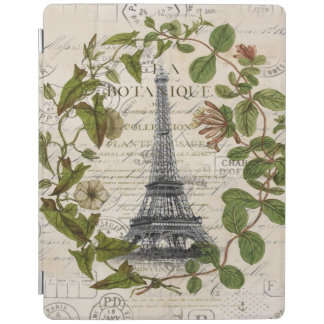 Pariser französischer botanischer iPad smart cover