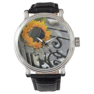 Pariser Sonnenblume Uhren