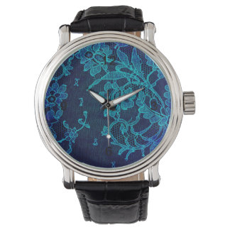 Pariser weibliche viktorianische gotische armbanduhr