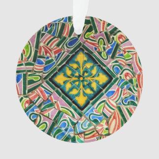 Park Guell Mosaiken Ornament