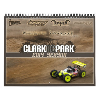Park-Kalender 2014 Clarks RC Abreißkalender