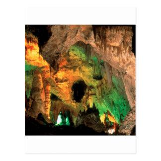 Park-Karlsbad-Höhlen-New Mexiko Postkarte