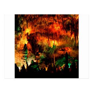 Parken Sie das große Raum-Karlsbad-New Mexiko Postkarte