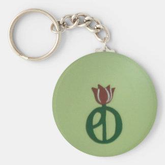 Parkinson-Krankheits-Tulpe Schlüsselanhänger