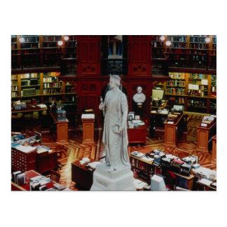 Parlamentsbibliothek, Ottawa, Ontario, Kanada Postkarte