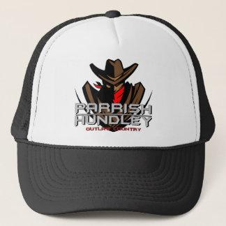 Parrish-Hundley geächtete Land-Kappe Truckerkappe