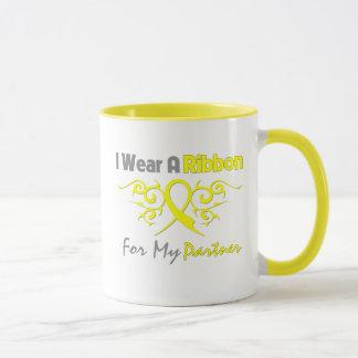 Partner - ich trage eine gelbe tasse