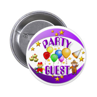 Partuy Gast ~ Knopf # 2 Runder Button 5,7 Cm