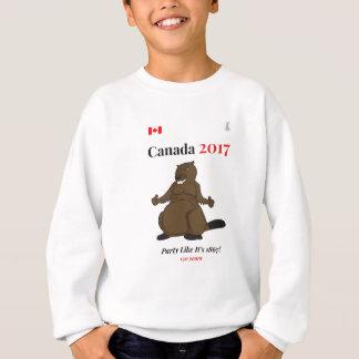 Party 1867 Kanadas 150 im Jahre 2017 Sweatshirt