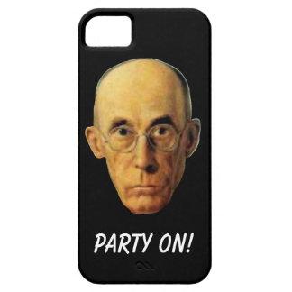 Party auf Nerdy Typ-lustigem Zellen-Telefon-Kasten iPhone 5 Hüllen
