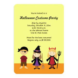 Party Halloween scherzt Kostüm-Einladungen 12,7 X 17,8 Cm Einladungskarte