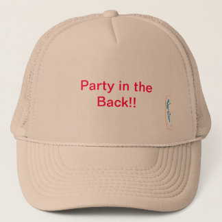 Party in der Rückseite!! Truckerkappe