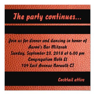 Party-Karte für Band-Bar Mitzvah Sammlung Karte