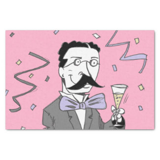 Party-Mann Seidenpapier