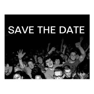 Party-Save the Date Postkarte